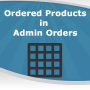 Ordered Products inside Admin Orders Grid